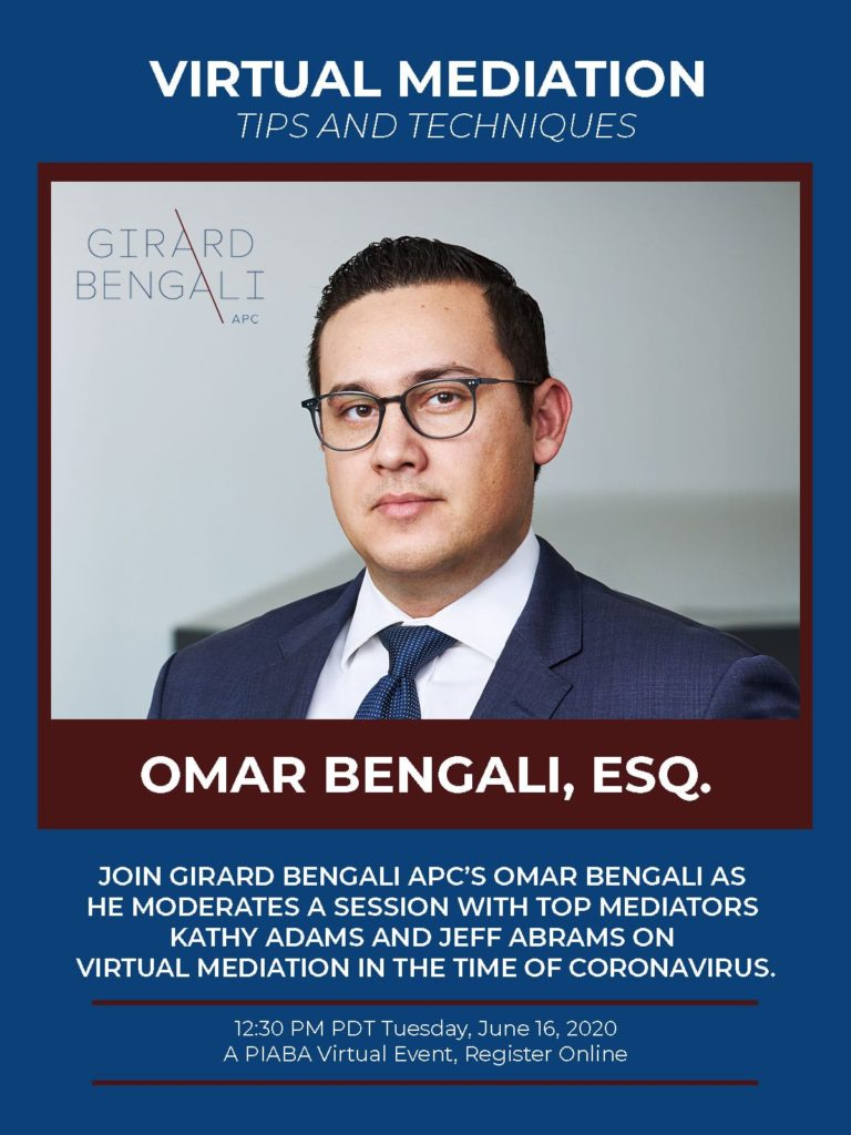 omar bengali los angeles finra employment mediation attorney